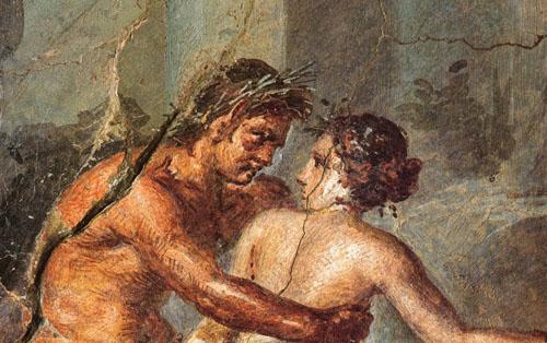 Đời sống hưởng lạc thời La Mã được hé lộ qua những bức tranh tường